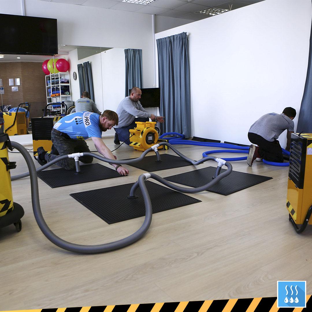фото: Высушить квартиру, дом или помещение теперь могут специализированные службы